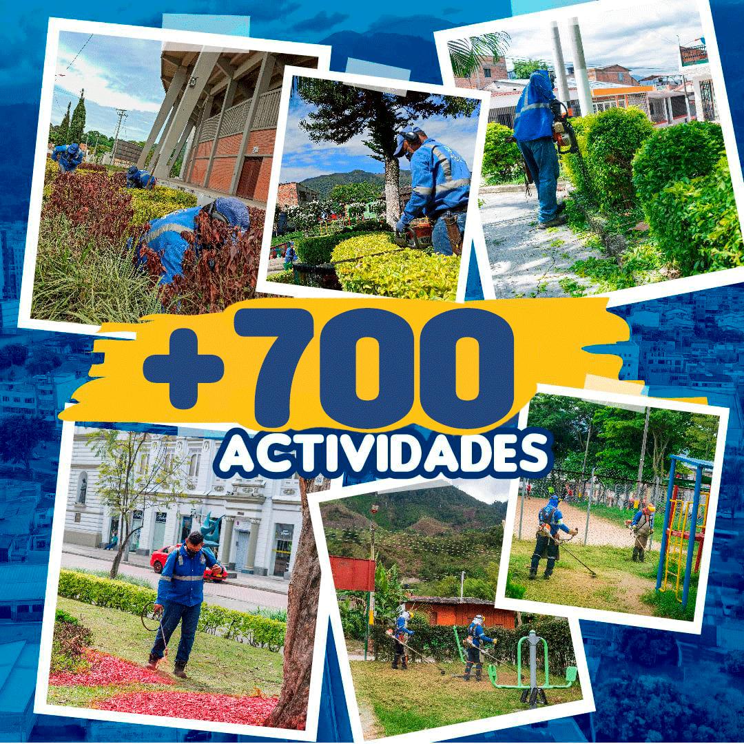 Culminamos el año 2020 con más de 700 actividades