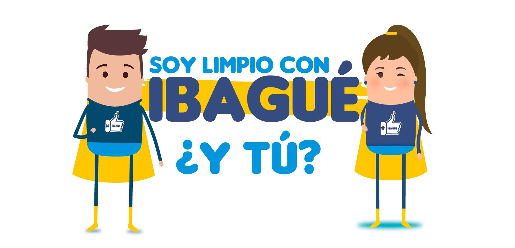 Súmate a nuestra campaña #SoyLimpioConIbagué